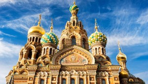 Church of the Savior is St. Petersburg, Russia